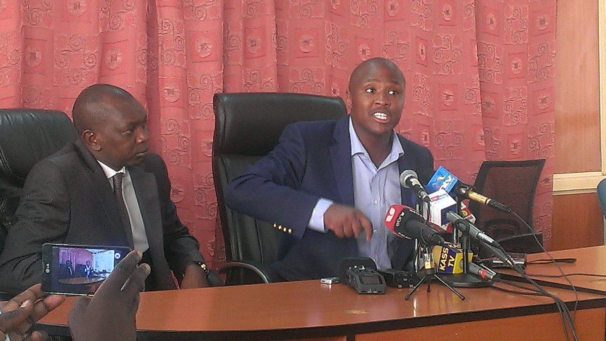 Keter says Duale should resign as majority leader until he is cleared. He says Duale and Murkomen defended Waiguru https://t.co/98yZqrpMw6