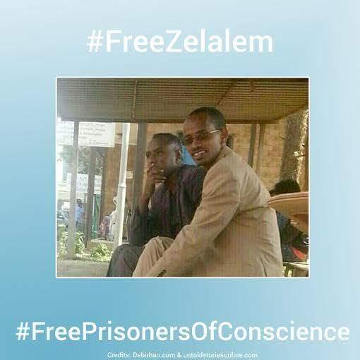 #FreeZelalem #FreeYonatan #FreeBahiru #freeBloggersandJournalists  #freePrisonersofConscience #FreeEthiopia https://t.co/hubhmqguES