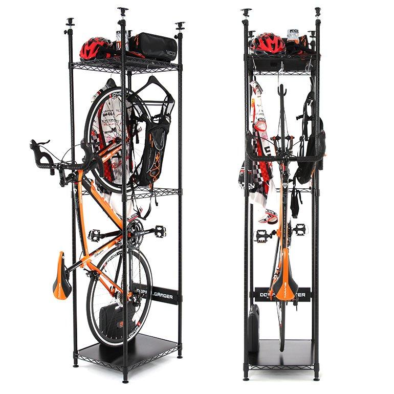 おまっとさんでした。 自転車バイシクルスタンド界きってのニューカマー、バイシクルハンガー。 本日爆誕です。 #インテリア #室内保管 #ドッペルサイモ