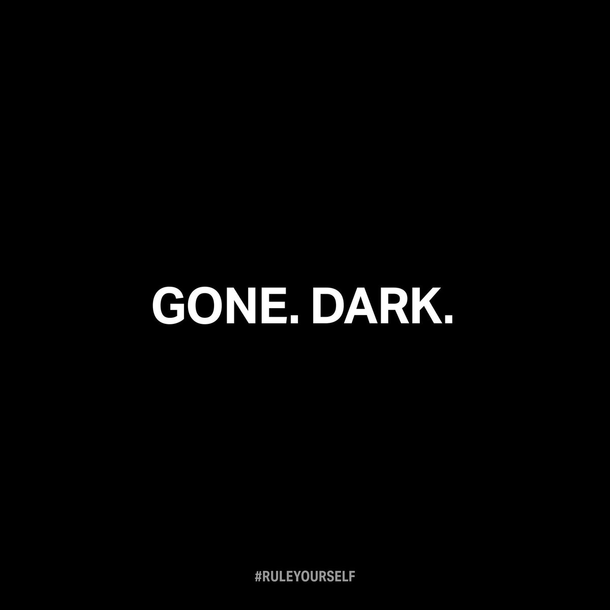 The Dark Side has gone dark: Click to enlarge