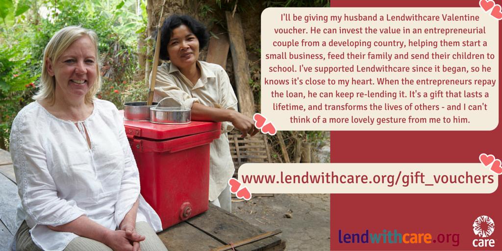 RT @lendwithcare: What are you sending your #Valentine? @DeborahMeaden is sending a Lendwithcare voucher! https://t.co/s9oM59S7e8 https://t…