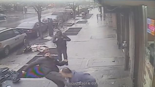 Four teens busted in beating of 50-year-old postal worker at Brooklyn deli