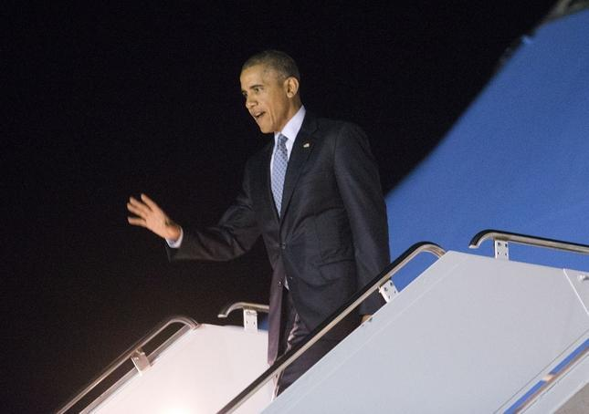 Obama lands in Mountain View to rake in cash for Democrats