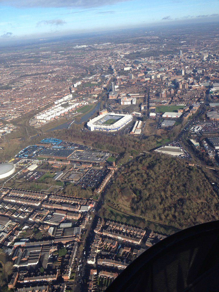RT @Brackonis: In the distance the place were it all happens in Leicester #leicester @Leicester_Merc @BBCRLSport https://t.co/R5YMMEPoz5