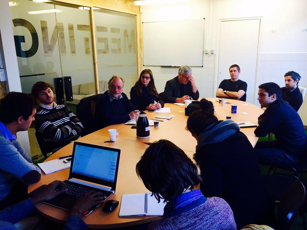 Matinée rencontre entre @valorem_energie et les #startup de #NewtonBTW