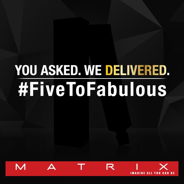 Your biggest wish from MATRIX hair color has been granted! Can you guess what it is? #FiveToFabulous https://t.co/lYonsSpoUR