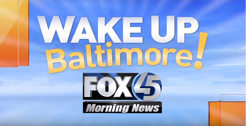 WAKE UP BALTIMORE! Time to turn on Fox45 Morning News! Get the latest in weather & traffic! LiveOnFox45