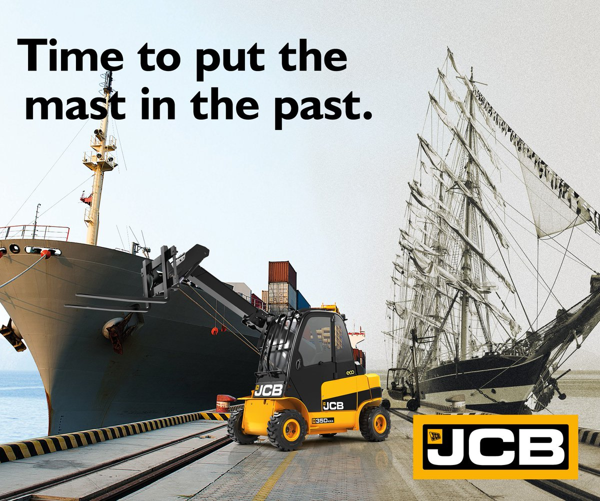 It's time to put the mast in the past! Explore the JCB Teletruk here: https://t.co/qkoqtcMqLU https://t.co/qGXHdZ0zx8