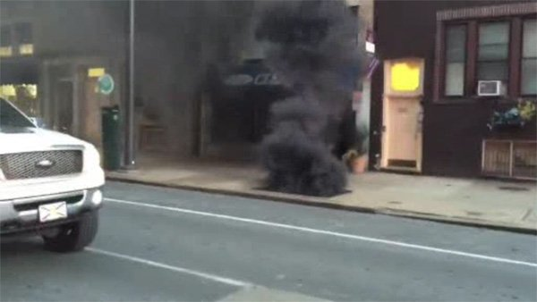Crews work to restore power to 90 customers after underground fire in Center City-
