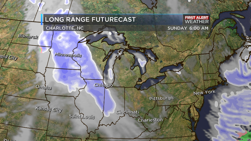 @wbtv_news FUTURECAST eyes our next weather-maker Sunday, storm arrives here Monday, 7 day forecast next WATCHWBTV