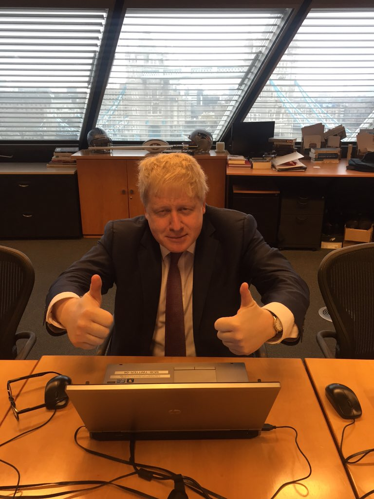 I'm ready for your questions folks, let's get cracking #AskBoris https://t.co/8lqyWS1MsJ