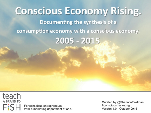 CONSCIOUS ECONOMY RISING - Special Report summarising last 10 years.   https://t.co/QLHUuLJUOC https://t.co/8WBnvvm62A