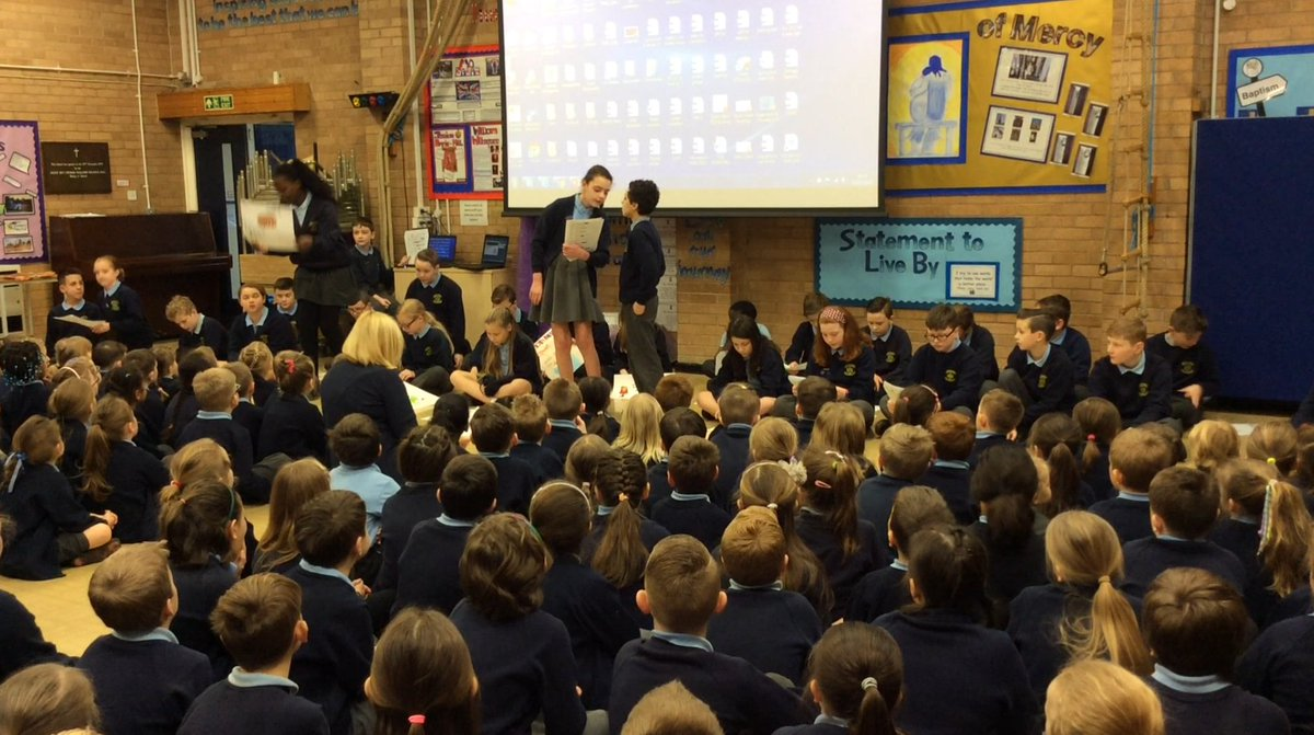 Congratulations and well done to Year 6 and staff for their Share and Shine assembly all about 'teamwork'.