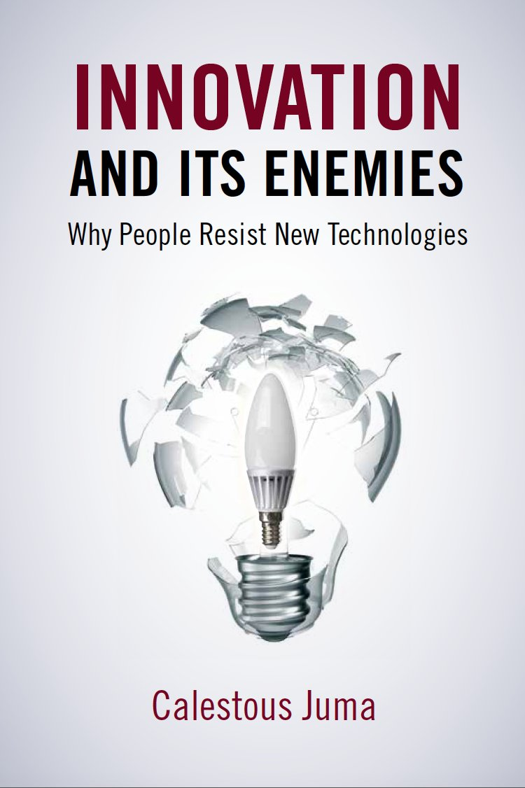 Innovation and Its Enemies https://t.co/gMiemWnbCU https://t.co/KhfrZsVyjr  a #mustread by Prof @calestous   Juma!  Cannot wait to read it!