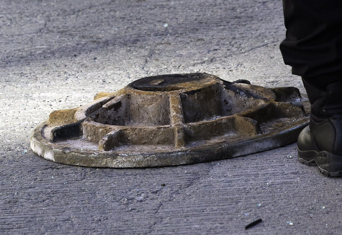 Police: Woman killed when car struck by flying manhole cover on I-93 in Boston
