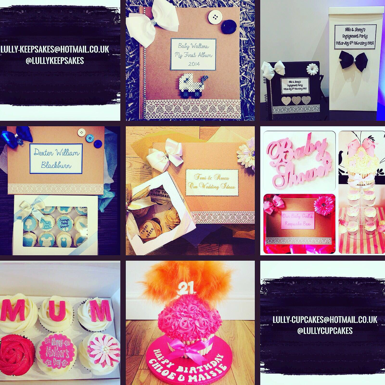 Everyone get following @lullykeepsakes and @lullycupcakes my fav gifts and cupcakes in Essex 💗 https://t.co/yRSjOnBBjv