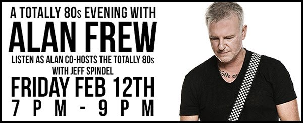 Don't miss @boom973's #totally80s #longweekend with @jeffspindelboom! SPECIAL guest TONIGHT @AlanFrew! #mysong #frew https://t.co/yNqNEsvMGb