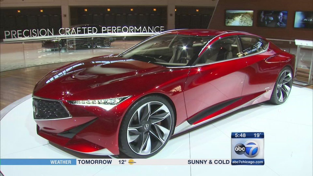 Check out what's new at 2016 Chicago Auto Show