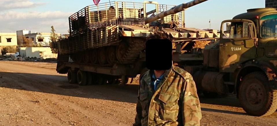 الوحش الفولاذي لدى قوات الجيش السوري .......الدبابه T-72  - صفحة 2 CbBJPeGWcAA2Quz