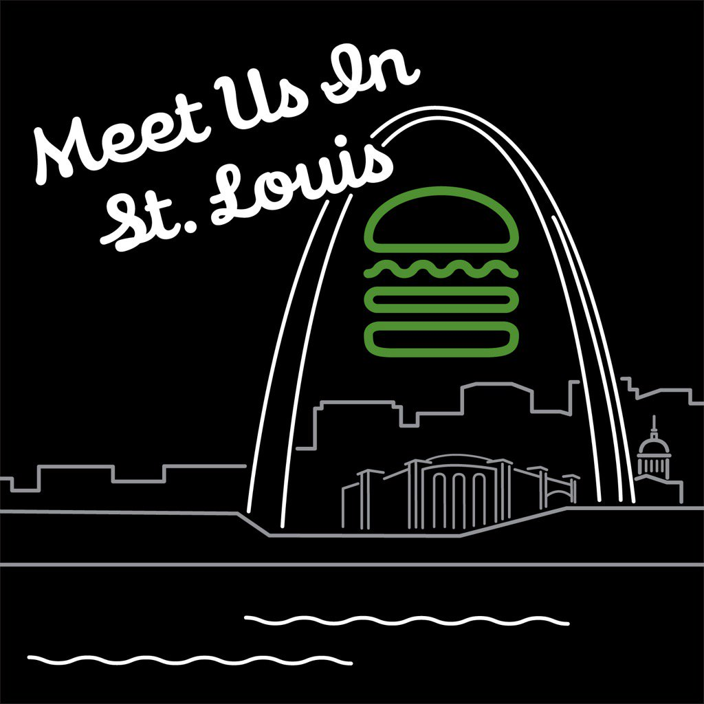 Friends, it's official: @shakeshack is heading to #StLouis! Stay tuned for details. Time to bring it home! https://t.co/Tf2RTMUOHm