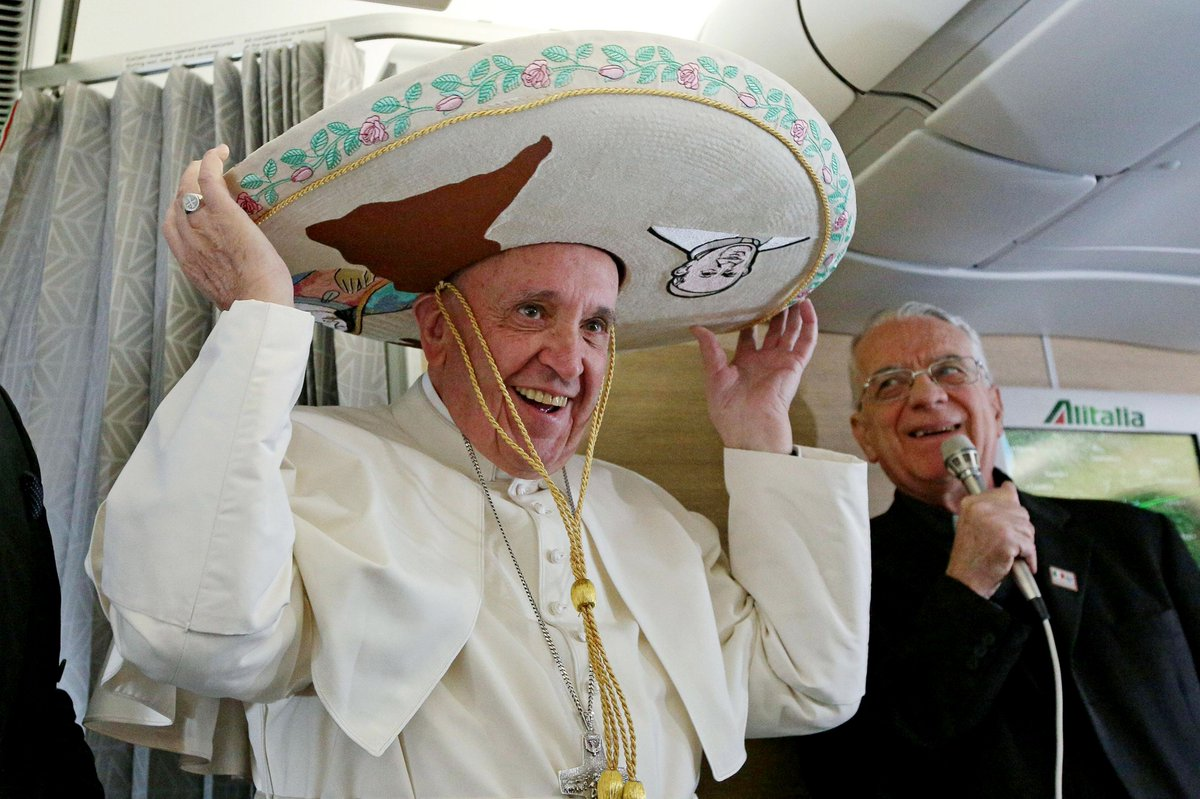 Pope Francis has begun a 7-day trip that will take him first to Havana, Cuba, then to Mexico