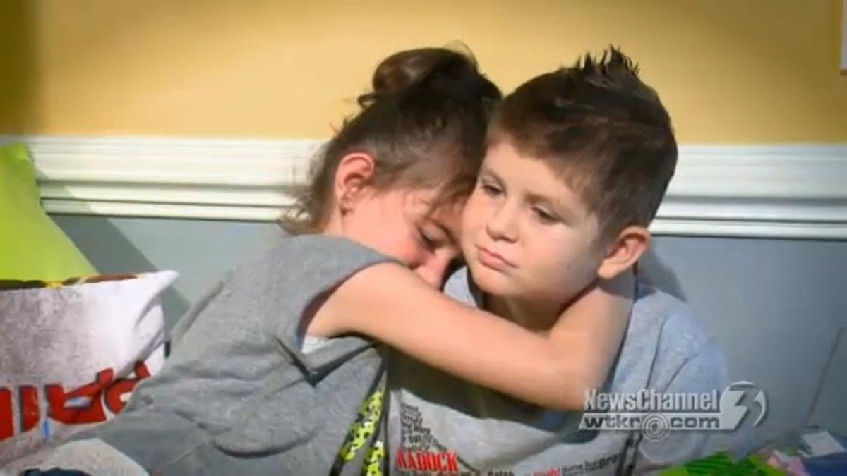 Cancer-stricken boy, 8, who found 'true love' in final months of life dies