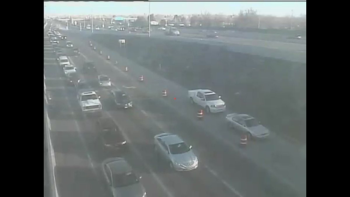 Looks like the minor crash on SB 225 at Colfax is on the ramp and is out of traffic.