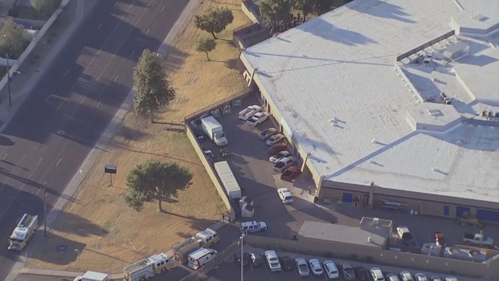 @GlendaleAZPD is on-scene of a double shooting at Independence High School.