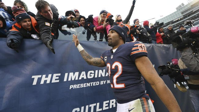 Matt Forte says he won't be re-signed by @ChicagoBears, says goodbye on social media
