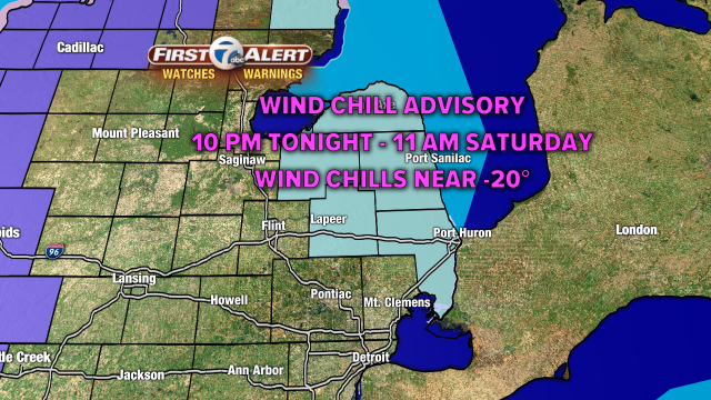 Snow showers today then bitterly cold this weekend. More on 7 Action News at noon. backchannel
