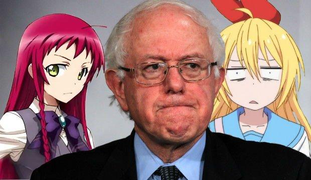 LOOKHUMAN |Anime Betrayal Bernie Sanders