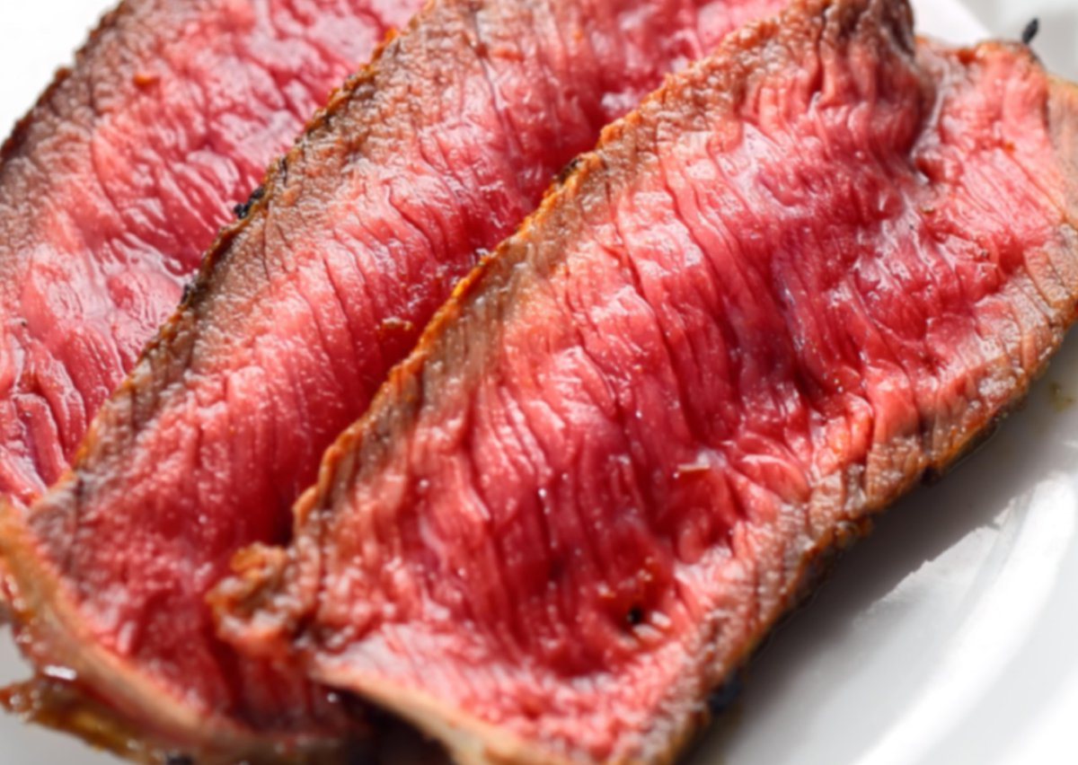 seamless on twitter steak cooked rare on the rarest of days
