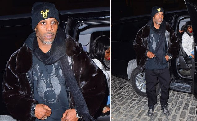 X GON' GIVE IT TO YA: @DMX hits NYC nightclub to perform just four days after collapse