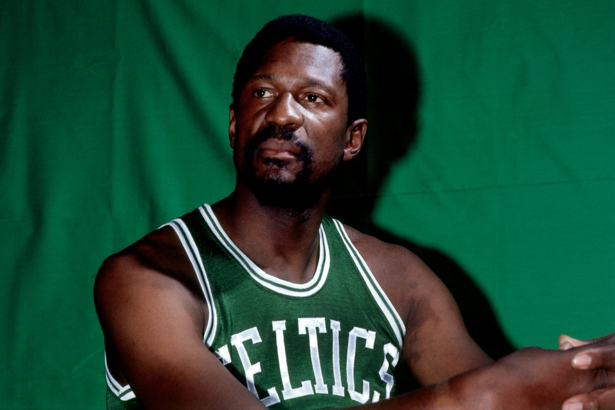 Happy Birthday To 11 Time NBA Champion Bill Russell The Most Rings Of Any