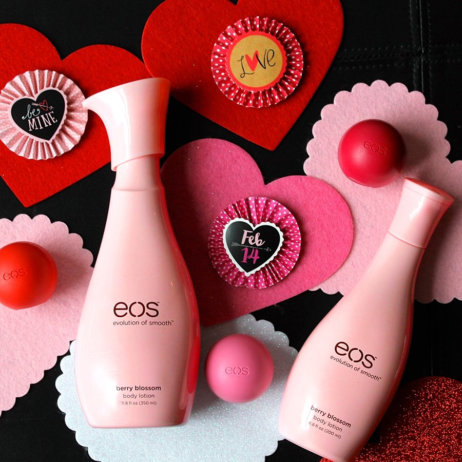 Smooth skin will 'be yours' this #ValentinesDay #eos