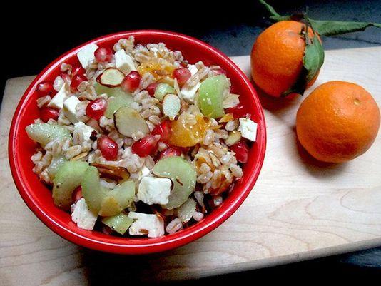 Recipe: Warm Winter Farro Salad