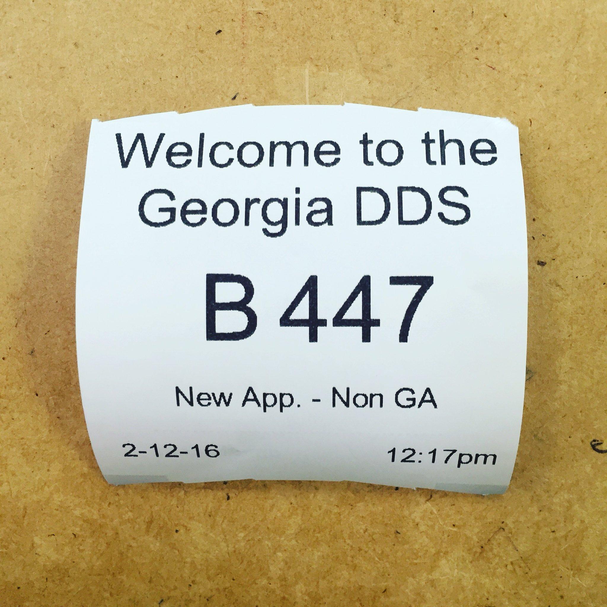 Oh dear.... Here we go... #dds #driverslicense #saywhat #ga #atlanta https://t.co/6zdUlQn23X