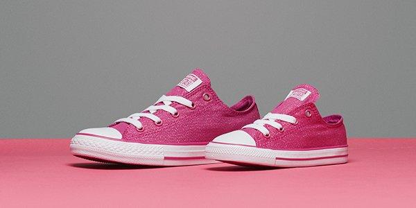 converse gray and pink gei0  noir glitter jd converse