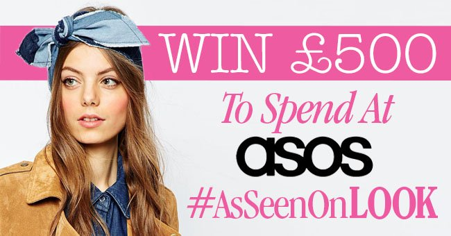 WIN! Follow @lookmagazine & RT to nab £500 to spend at @ASOS