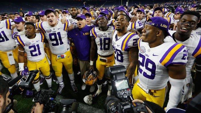 LSU football program could be shut down this fall, Louisiana governor says