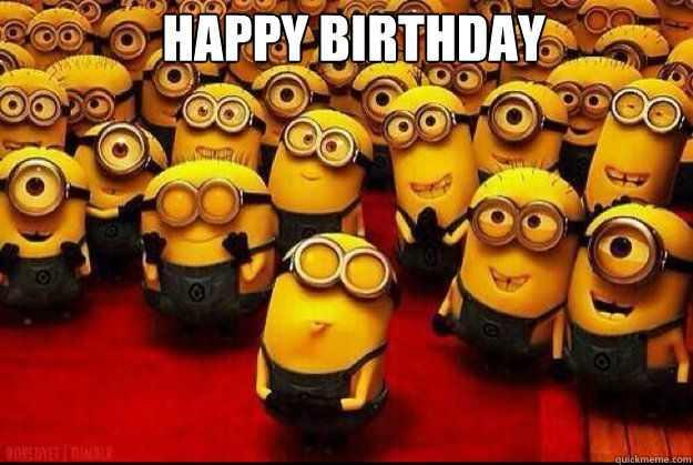 Happy Birthday :)  Have a wonderful wonderful day