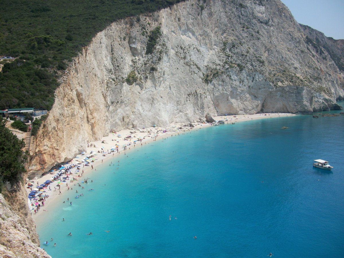 #portokatsiki an #amazing #beach in #leykada #ionian #sea. #travel #greece  See more at: https://t.co/jhhe5bJGB2 https://t.co/sTSF6uVVh9