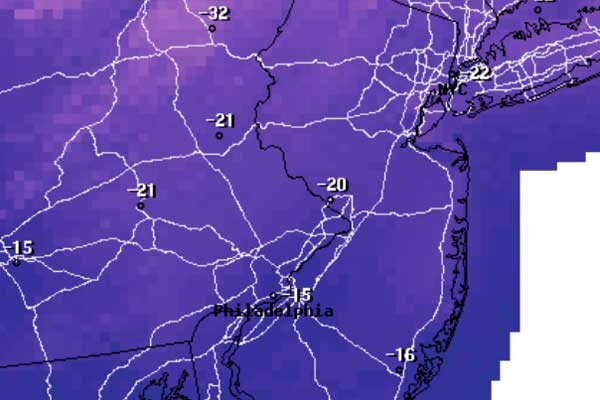 How cold? Record cold possible this weekend