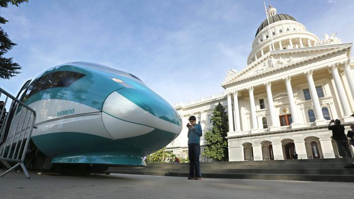 Lawsuit contends the California bullet train project is violating state law