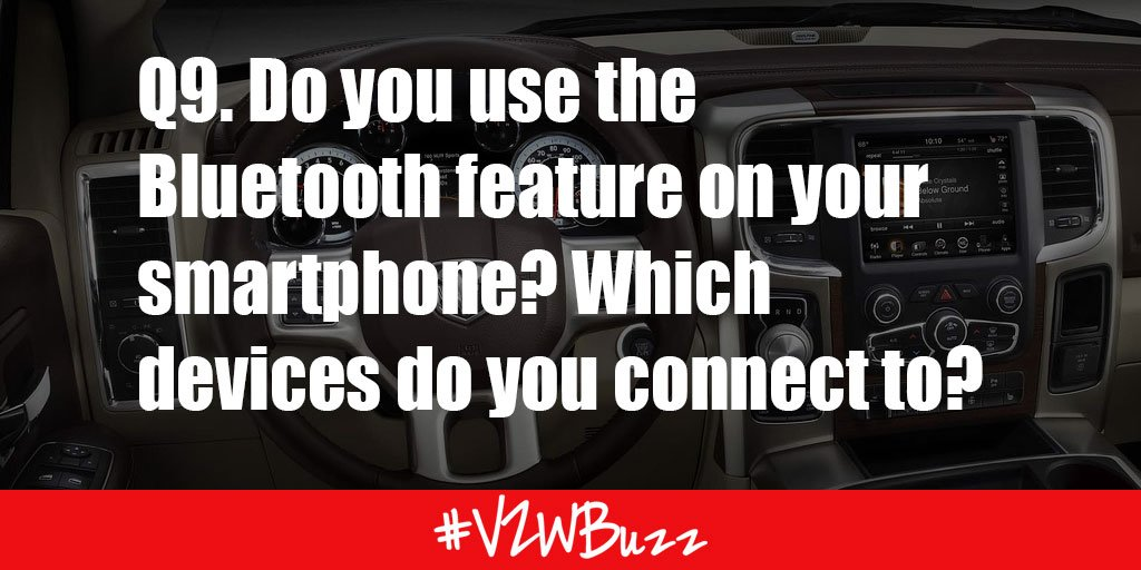 Yes to my speakers & #moto360 RT @MelissaSChapman: Q9. Do you use the Bluetooth feature on your smartphone? #VZWBuzz https://t.co/1b53JZa1wO