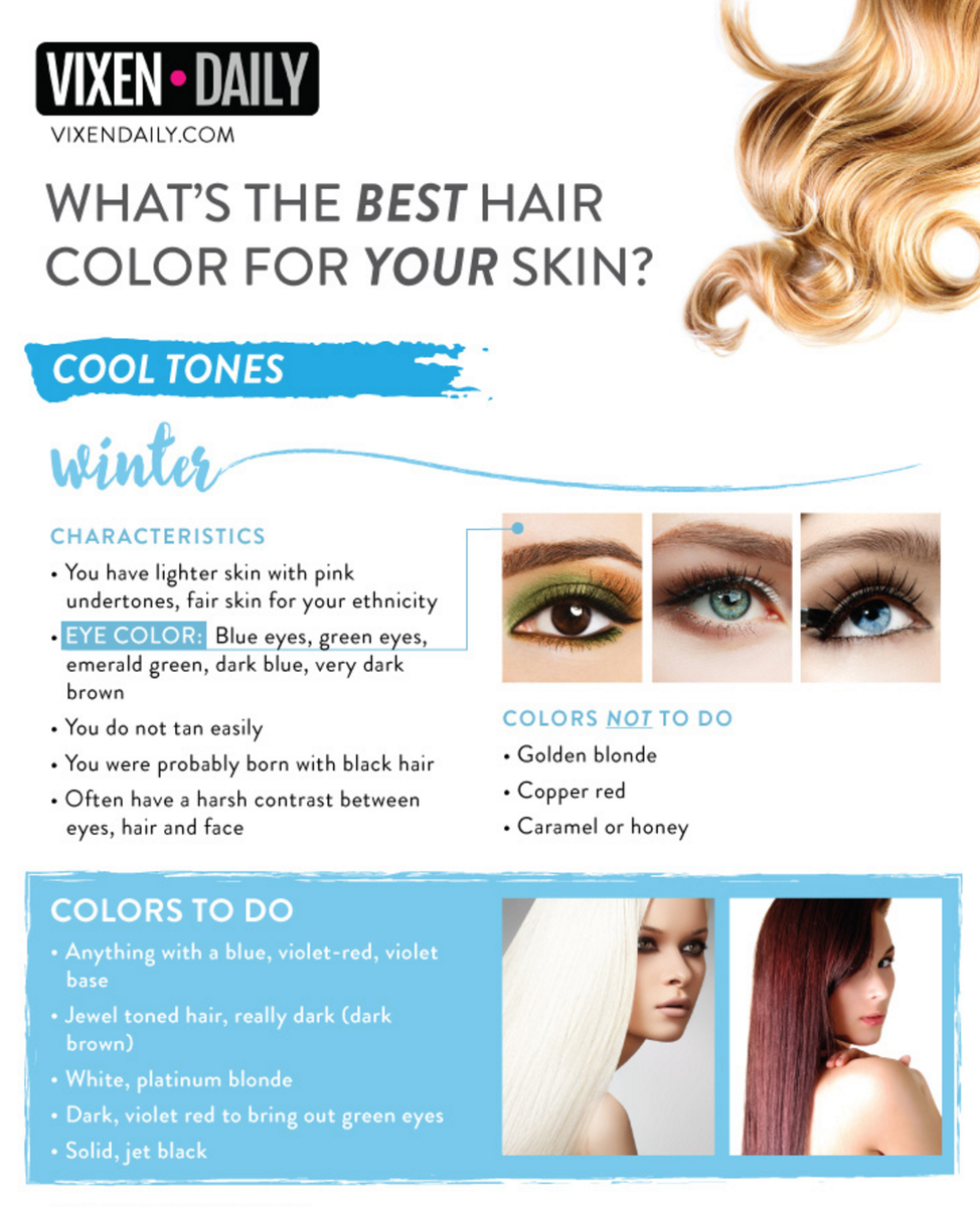 Best Hair Color For Blue Green Eyes And Tan Skin Life
