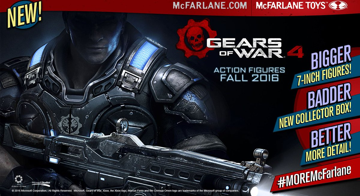 gears of war on twitter just announced mcfarlane toys will be