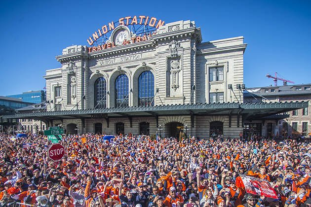 BroncosParade highlights from The Mile High City: Denver