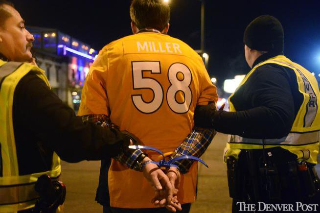 SB50 weekend saw 276 impaired driving arrests in Colorado, up from 2015