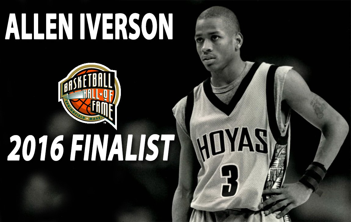Congratulations to @alleniverson on being selected as a finalist for the @Hoophall! #HoyaSaxa #TheAnswer https://t.co/zbv2O5KSNE
